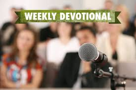 weekly devotional the impact of