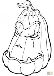 Small Picture Coloring Pages Creepy Pumpkin Coloring Page Free Printable