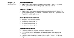 Engineering Resume Template Word Embedded Software Engineer