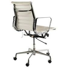 eames reproduction office chair. Eames Reproduction Boardroom Office Chair - Medium Back White JasonL Furniture L