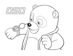 Small Picture Special Agent Oso New Watch Coloring Page Download Print