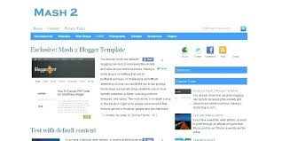 Business Blogger Templates Free Template Style Newspaper