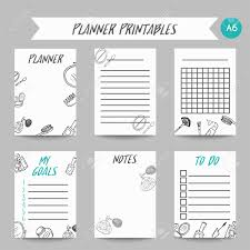Business Planner For Make Up Artist Fashion Girl Beauty Notes