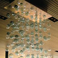 fine blown glass chandelier for ceiling light fixture ideas outstanding bubbles blown glass chandelier with