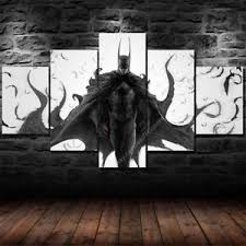 image is loading batman joker canvas wall art painting prints set  on large canvas wall art ebay with batman joker canvas wall art painting prints set 5 piece large