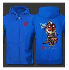 disruptor dota 2 hero zip hoodies plus size sweatshirts for men