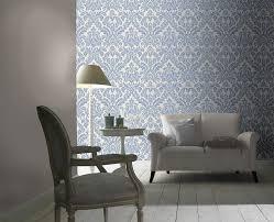 Superior Tapete Rasch Florentine Barock Blau Creme 449013 | Tapete Schlafzimmer  Barock Tapete