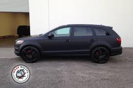 matte black audi a7. audi q7 wrapped in 3m matte black car wrap a7