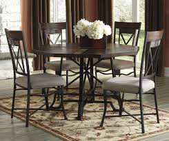 outstanding round dining table with 5 chairs 13 s 2fsignature design by ashley 2fcolor 2ftrudell 20d658 d658 50b 2bt 2b4x02 b1