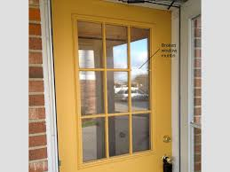 installing new exterior door in existing frame. entry door with broken muntin frame installing new exterior in existing