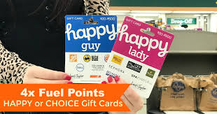 for another week until october 30th you can earn 4x fuel points on happy gift cards at kroger you will need to a coupon to your kroger card