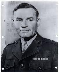 United States Marine Officer Charles Dodson Barrett Major General United States Marine