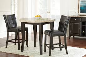 3 Piece Dining Set Steve Silver Company Monarch 3 Piece Counter Height Dining Set