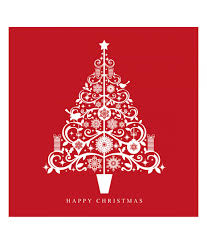 Christmas Card Photo Tiny Trees Christmas Card Pack Of 10 Cancer Research Uk Online