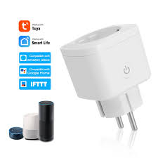 <b>16A EU Smart Wifi</b> Power Plug with Power Monitor Smart Home Wifi ...
