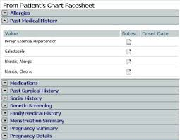 Screen Tour Of The Health History Form Reconciliation Page