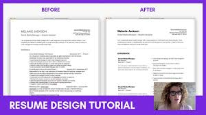 resume ux designer resume tutorial tips to layout and design your resume sarah doody ux designer