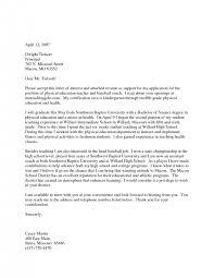 Cover Letter Cover Letter For Teacher Application Cover Letter For A