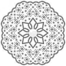 Vektorová Grafika Henna Tetování Mandala V Mehndi Stylu Vzor Pro