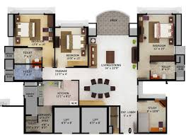 full size of bedroom alluring color floor plan 5 house plans in beautiful home col on