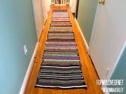 Rug Runners For Kitchen 10 Hallway Runner Rug Diy A Designer At Home