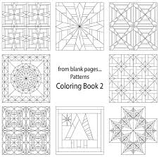 Small Picture 7 Name Quilting from blank pages Pattern Coloring Book 2
