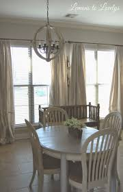 Diy Drop Cloth Curtains Easy No Sew Drop Cloth Curtains With Pleats Lemons To Lovelys