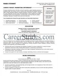 Intern Resume Example | Musiccityspiritsandcocktail.com