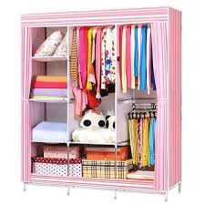 incredible closet organizer hawaii wish e n 68 70 folding wardrobe clothes stainless rack storage r and