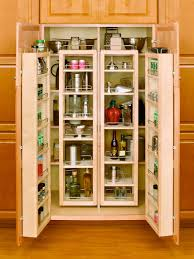Pantry For A Small Kitchen Kitchen Room Small Pantry Cabinets With Smart White Wooden Two