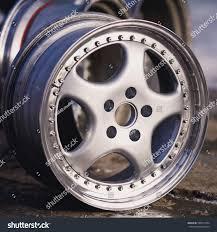 Rims Design Studio Close Rims Car Alloy Wheel Old Stock Photo Edit Now 546512794