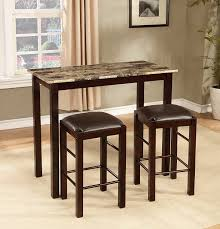 breakfast furniture sets. amazoncom roundhill furniture brando 3piece counter height breakfast set espresso finish table u0026 chair sets
