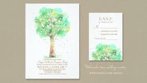 Wedding Invitations Watercolor Read More Watercolor Love Tree Heart Wedding Invitations Wedding