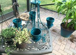 hanging planter diy flower pot chandelier