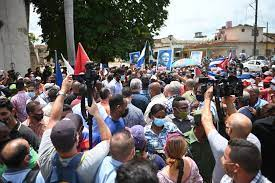 Thousands Join Rare Anti-government ...