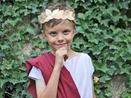 last minute costume roman toga