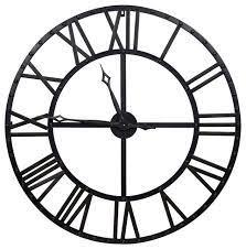and bronze metal wall clock