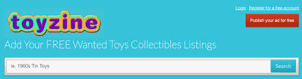 Toyzine, toy collectibles wanted classifieds