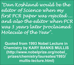 kary b mullis dr m on science research scientists quote from the 1993 nobel prize lecture in chemistry by kary banks mullis