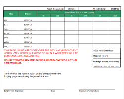 20 Daily Timesheet Templates Free Sample Example Format Daily Time