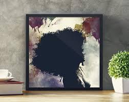afro art black woman art black pop art black women framed art prints african american wall art black women poster artwork afro hair wall art on african american wall art prints with american wall art etsy