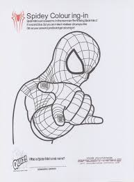 Small Picture Spiderman 1 Coloring Pages