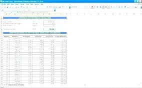 Amortize A Loan Formula Loan Amortization Template Excel Car Schedule With Extra Payments