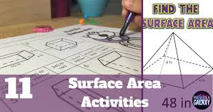 11 Activities to Make Practicing Surface Area Awesome Sauce - Idea ...