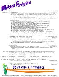 Animator Resume Animator Resume Therpgmovie 29
