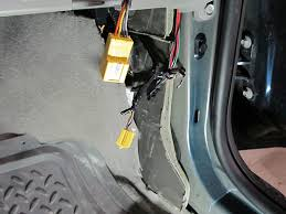14546 passenger air bag wiring harness connector airbag light on instrument panel harness to body harness connector