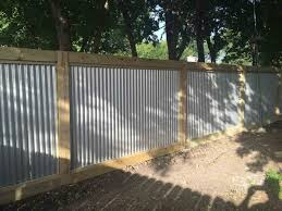 home design pretty panels are image corrugated metal fencing