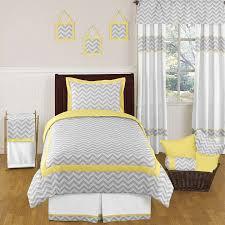 Image Grey Sweet Jojo Designs Chevron Yellow Gray Twin Grey Bedding Set For Girl Boy Kid 846480013730 Ebay Ebay Sweet Jojo Designs Chevron Yellow Gray Twin Grey Bedding Set For