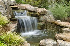 ponds water feature installation lansing mi stiles lawn landscaping snow removal inc