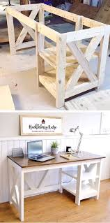 Image Cabinets Diy Farmhouse Desk Plans That Will Make Your Home Office Pop Need An Office Pinterest Diy Farmhouse Desk Plans That Will Make Your Home Office Pop Need